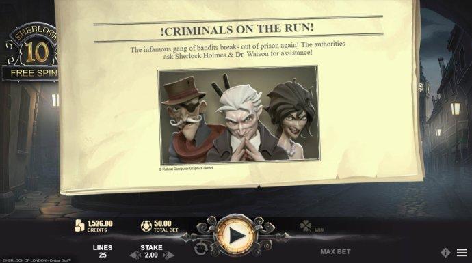 Criminals on the run - No Deposit Casino Guide