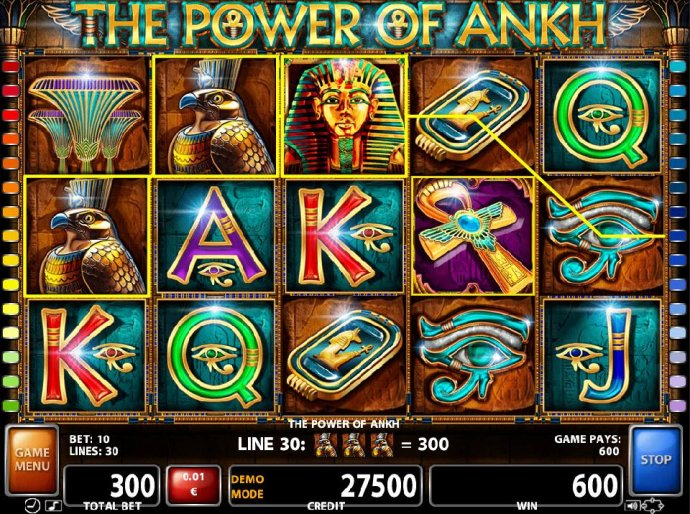 No Deposit Casino Guide image of The Power of Ankh