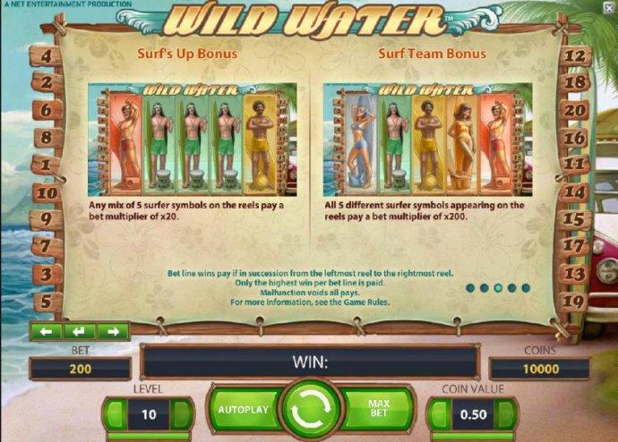 bonus feature rules - No Deposit Casino Guide