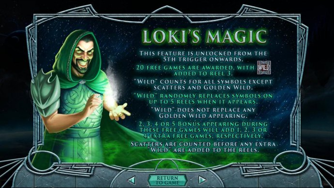 Lokis Magic Feature Rules by No Deposit Casino Guide