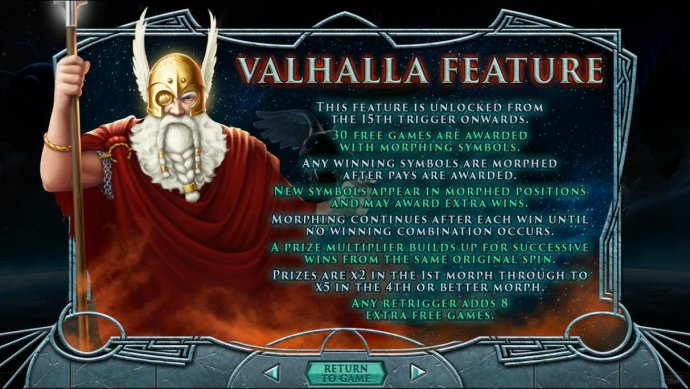 No Deposit Casino Guide - Valhalla Feature Rules
