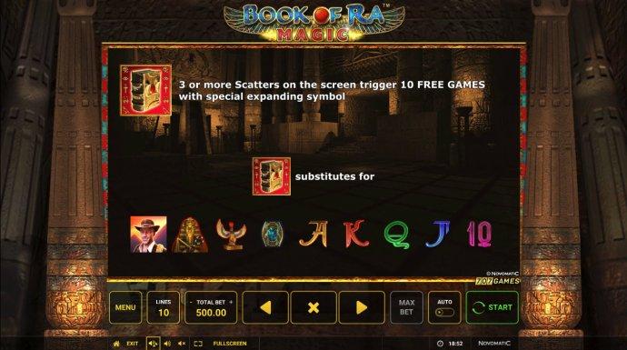 Book of Ra Magic by No Deposit Casino Guide