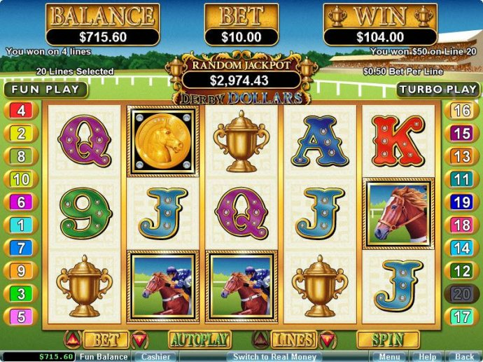 Derby Dollars by No Deposit Casino Guide