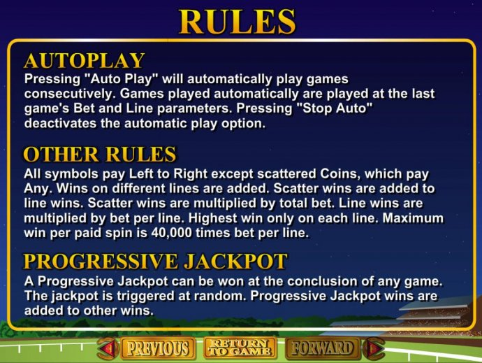 No Deposit Casino Guide image of Derby Dollars
