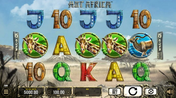 No Deposit Casino Guide image of Hot Africa