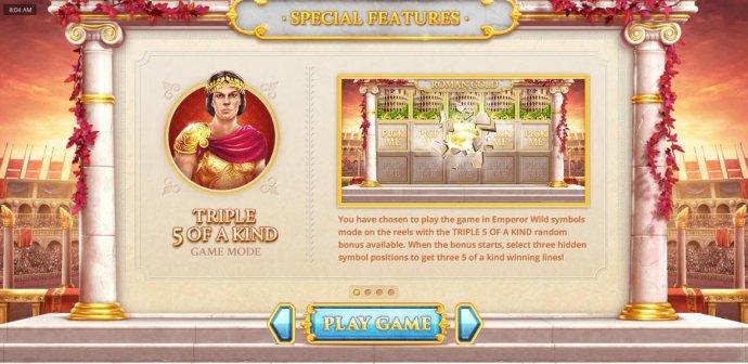 No Deposit Casino Guide image of Roman Gold