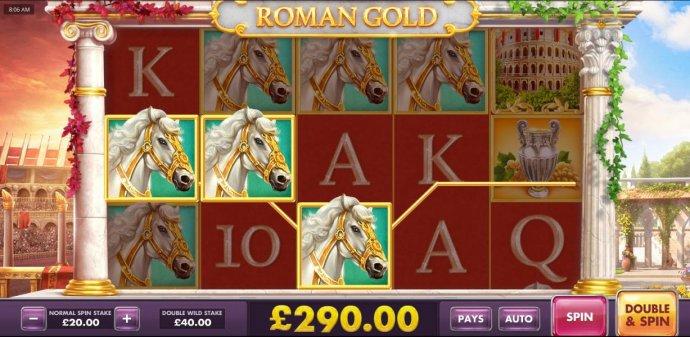 Roman Gold screenshot