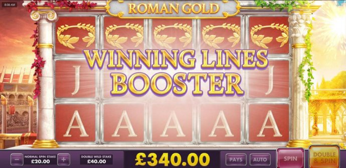 On top of the Triple 5 of a Kind, the Winning Booster Lines is triggered! by No Deposit Casino Guide