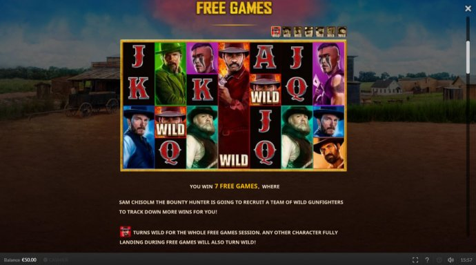 No Deposit Casino Guide image of The Magnificent Seven