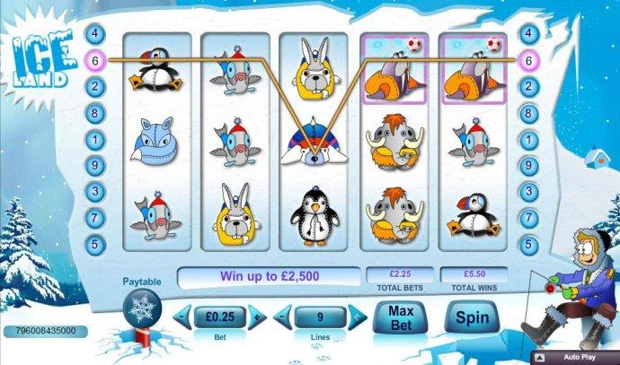 Ice Land screenshot