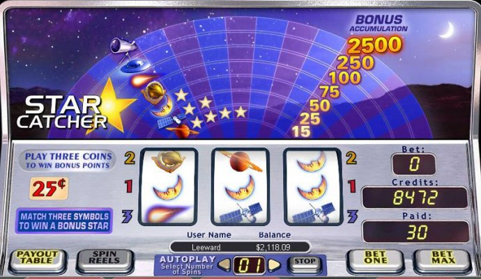 Star Catcher by No Deposit Casino Guide