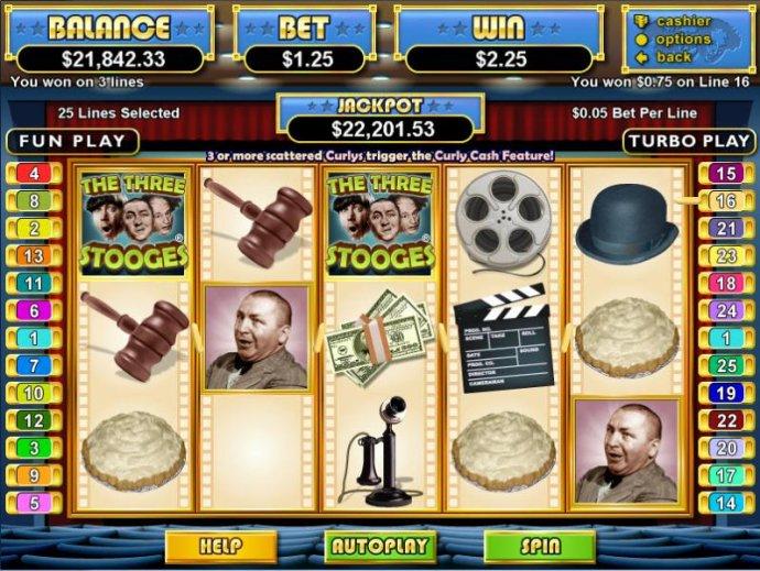 The Three Stooges screenshot