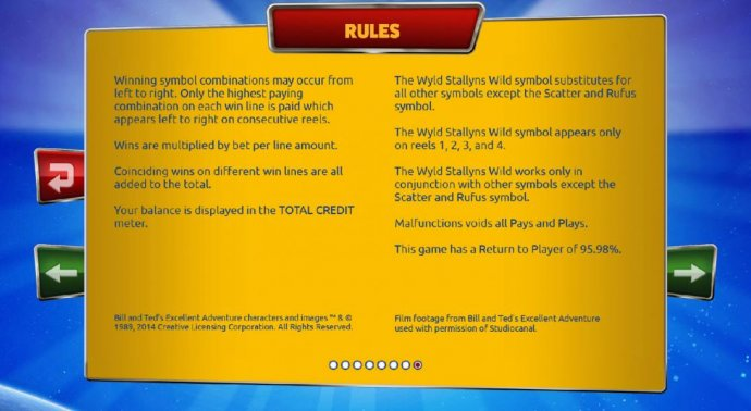 No Deposit Casino Guide image of Bill & Ted's Excellent Adventure