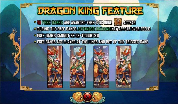 No Deposit Casino Guide image of Dragon King