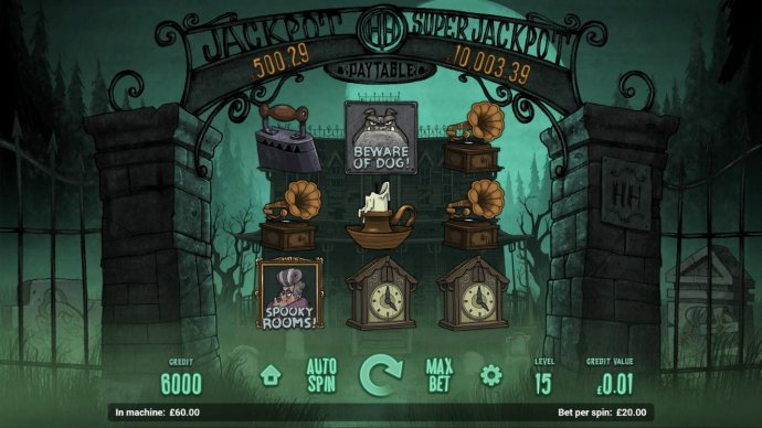 Haunted House by No Deposit Casino Guide