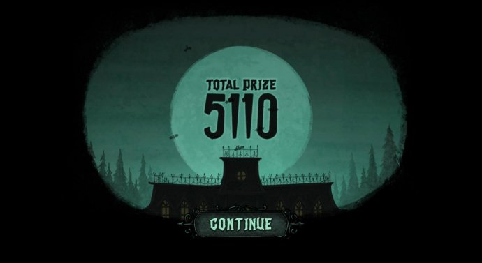 Spooky Rooms Bonus game pays out a total of 5110 - No Deposit Casino Guide
