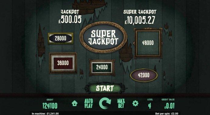 Super Jackpot Game Board. by No Deposit Casino Guide