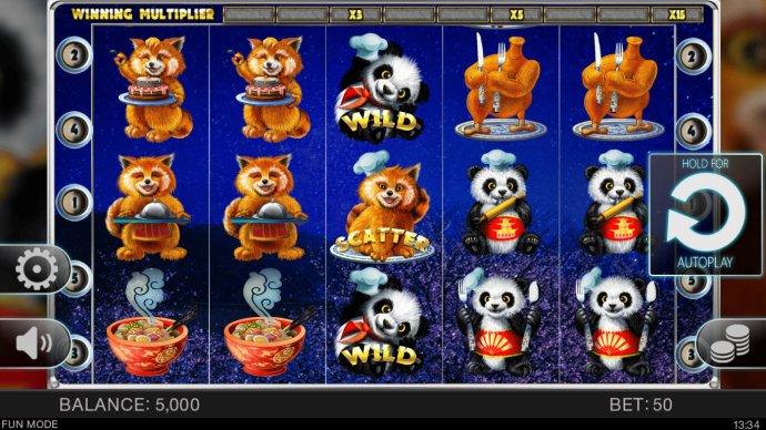 No Deposit Casino Guide image of Master Panda