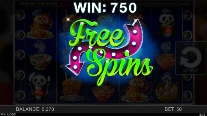 No Deposit Casino Guide - Scatter win triggers the free spins feature