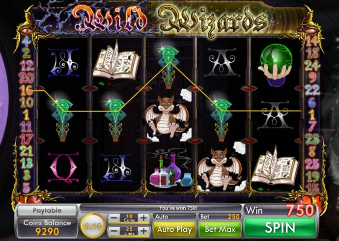 No Deposit Casino Guide image of Wild Wizard