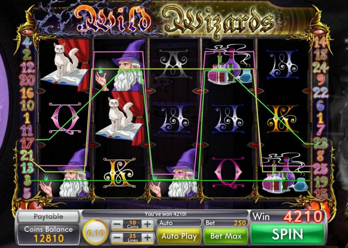 Wild Wizard by No Deposit Casino Guide
