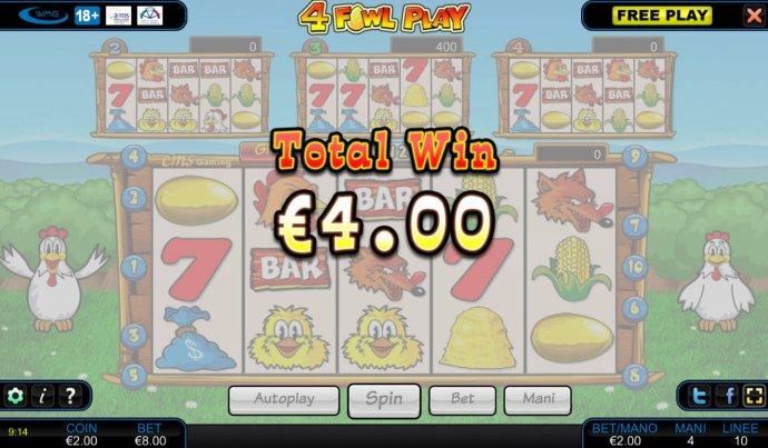 4 Fowl Play screenshot
