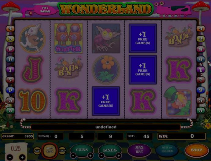 3 free games awarded by No Deposit Casino Guide