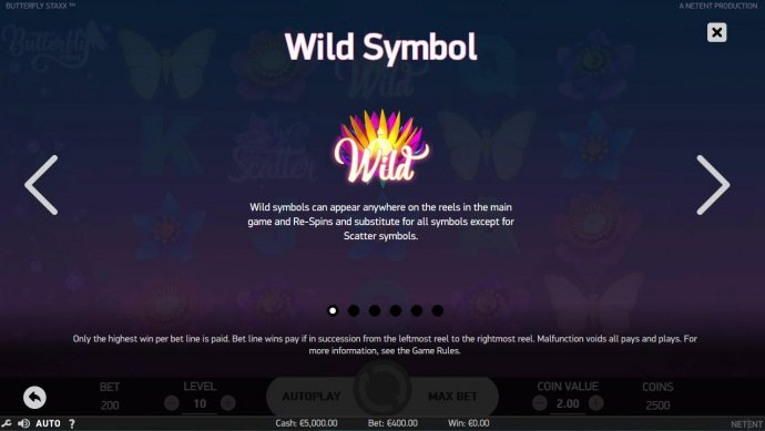 Butterfly Staxx by No Deposit Casino Guide