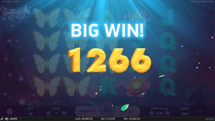 re-spin feature pays out a 1266 coin prize. by No Deposit Casino Guide
