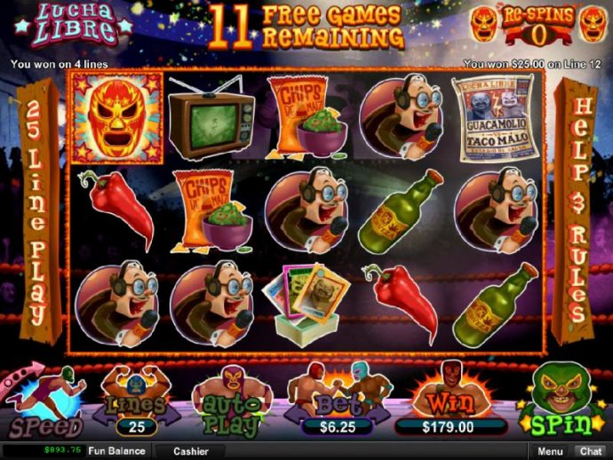 No Deposit Casino Guide image of Lucha Libre