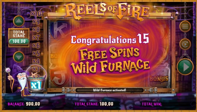 No Deposit Casino Guide image of Reels of Fire