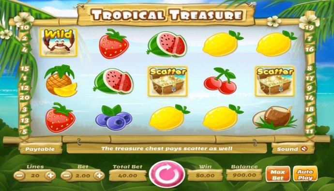 Tropical Treasure by No Deposit Casino Guide