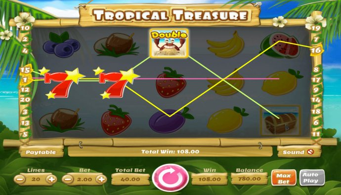 Tropical Treasure screenshot