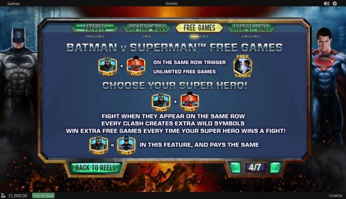 Batman v Superman Dawn of Justice by No Deposit Casino Guide