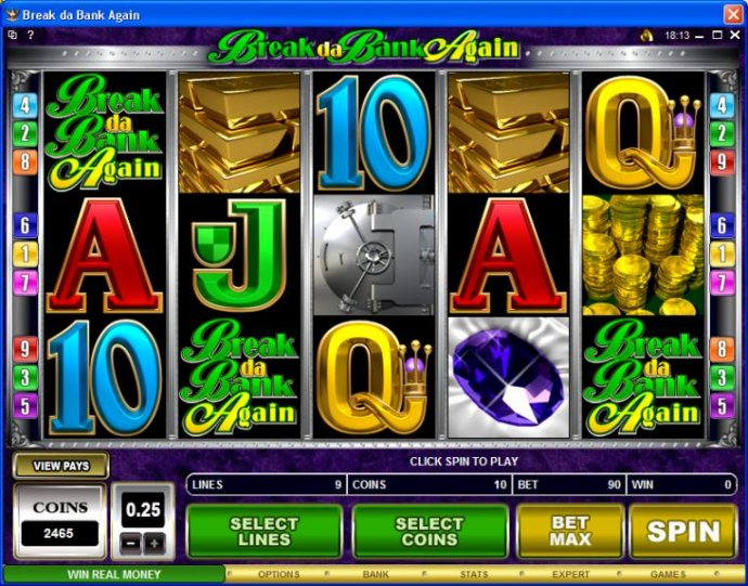No Deposit Casino Guide image of Break da Bank Again