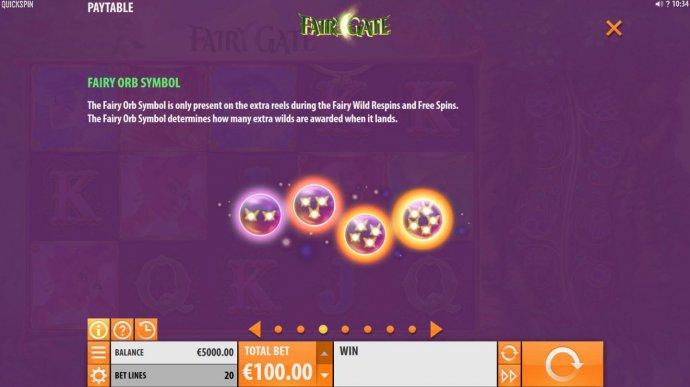Fairy Orb Symbol Rules - No Deposit Casino Guide