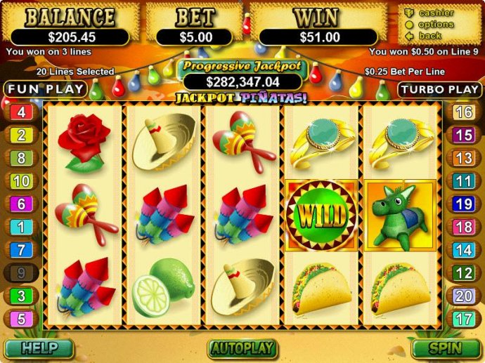 Images of Jackpot Pinatas
