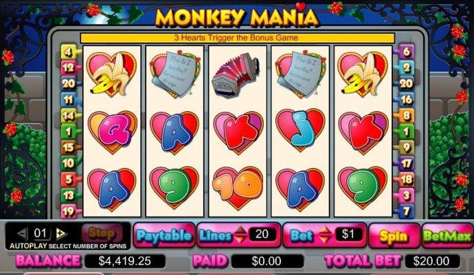 Monkey Mania screenshot