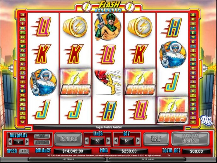 The Flash - Velocity by No Deposit Casino Guide