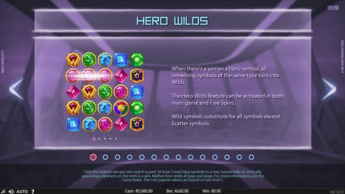 Hero Wilds Feature - No Deposit Casino Guide