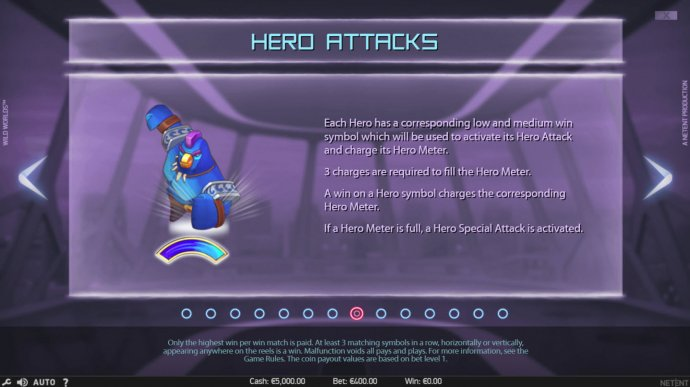 Hero Attacks - No Deposit Casino Guide