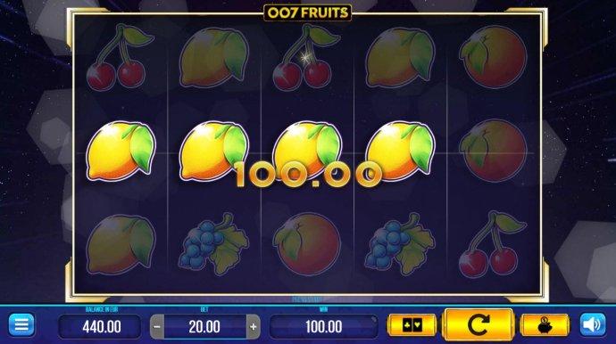 007 Fruits screenshot