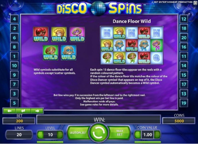 Disco Spins by No Deposit Casino Guide