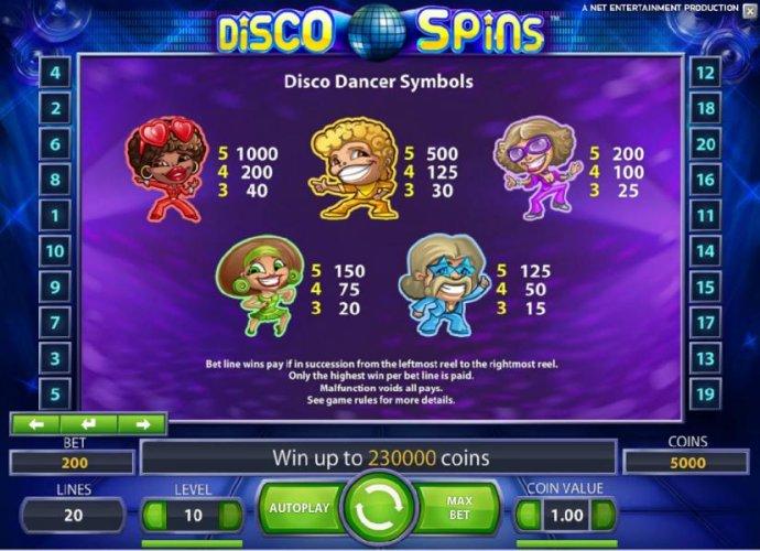 Disco Spins screenshot