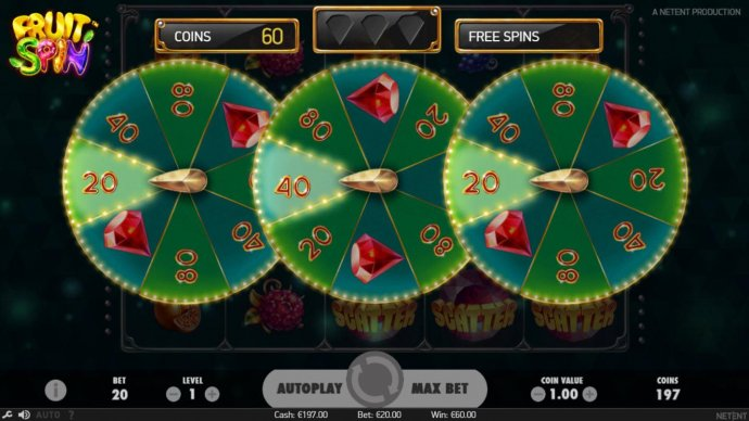 Fruit Spin by No Deposit Casino Guide