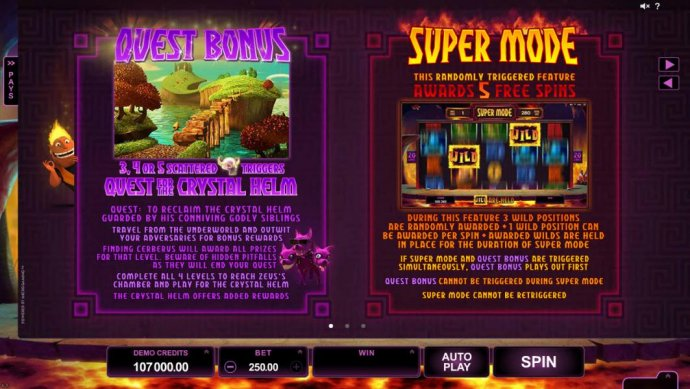 No Deposit Casino Guide image of Hot as Hades