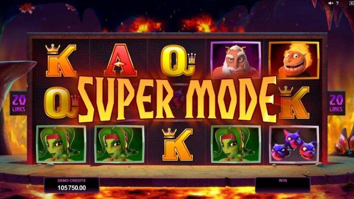 Super Mode - triggered - No Deposit Casino Guide