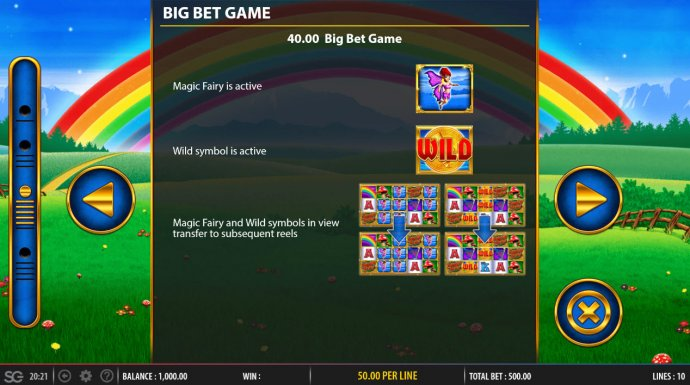 No Deposit Casino Guide image of Rainbow Riches Fortune Favours