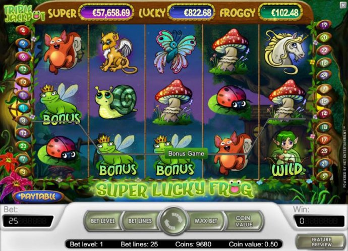 No Deposit Casino Guide image of Super Lucky Frog