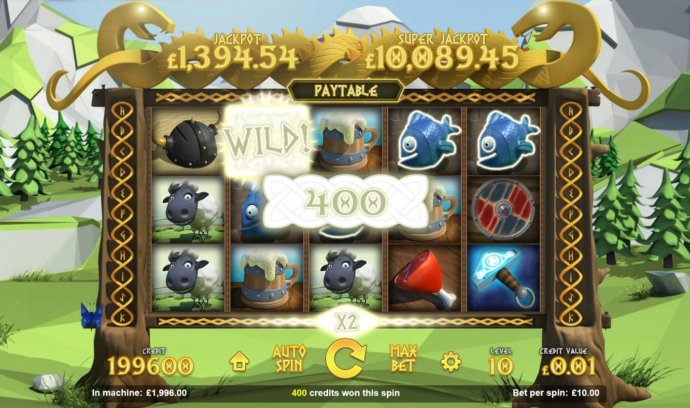 No Deposit Casino Guide image of The Vikings: Wheels of Valhalla
